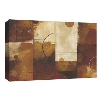 """PTM Images 9-154053  PTM Canvas Collection 8"""" x 10"""" - """"Geometric Spice I"""" Giclee Abstract Art Print on Canvas"""
