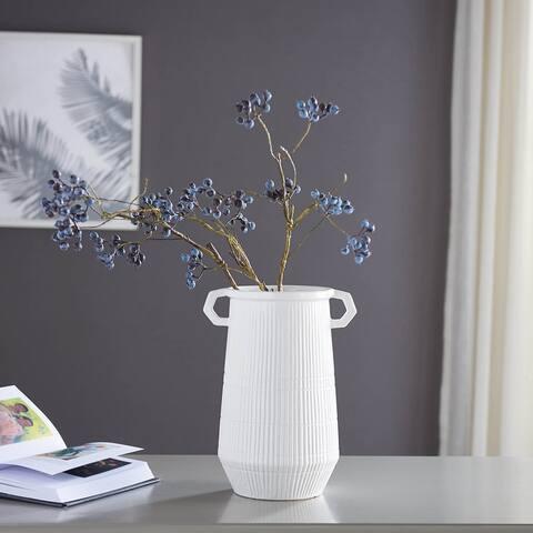 Dapper Deco Double Handle Vase