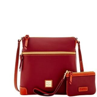 Dooney & Bourke Eva Crossbody W Med Wristlet (Introduced by Dooney & Bourke at $248 in Jun 2017) - CRANBERRY|https://ak1.ostkcdn.com/images/products/is/images/direct/78743cd8d3b91cd3015ee108f00fd5d649216bc9/Dooney-%26-Bourke-Eva-Crossbody-W-Med-Wristlet-%28Introduced-by-Dooney-%26-Bourke-at-%24248-in-Jun-2017%29.jpg?impolicy=medium