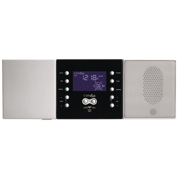 M&S Systems Dmc3-4 3- Or 4-Wire Retrofit Music/Communication System Master Unit (White)