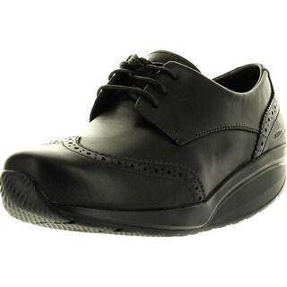 Mbt Womens Raawiya Coffee Ladies Dress Shoes - Black