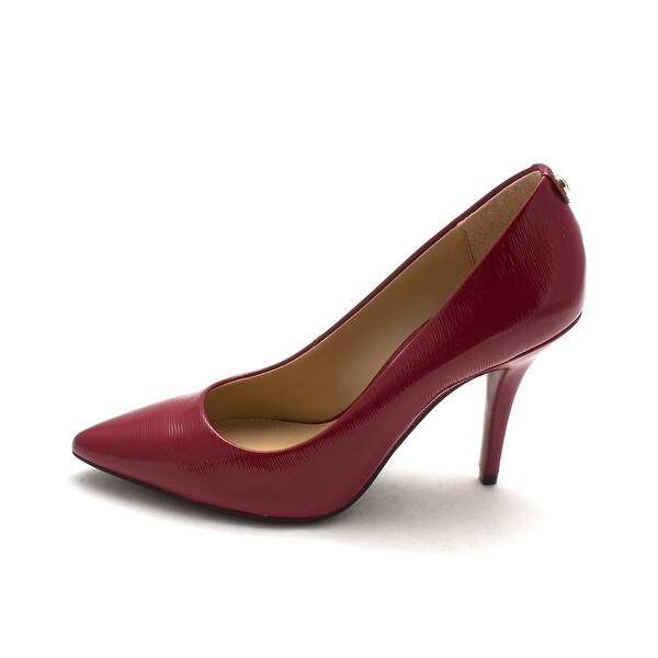 MICHAEL Michael Kors Womens flex high pump Pointed Toe Classic Pumps