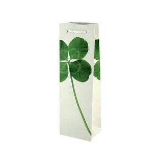Collins 4-Leaf Clover Bottle Gift Bag - Pack of 36
