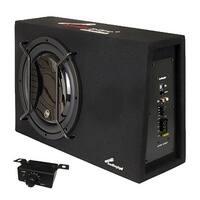 "Audiopipe Single 12"" Sealed Bass Enclosure 600W Max"