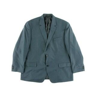 MICHAEL Michael Kors Mens Pattern Double Vent Two-Button Suit Jacket - 40S
