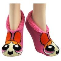 Powerpuff Girls Blossom Slip-on Slipper Socks