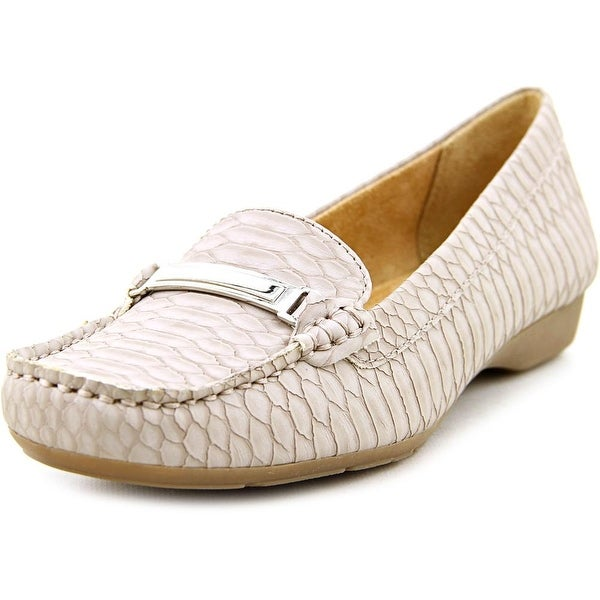 Naturalizer Gadget Round Toe Synthetic Loafer