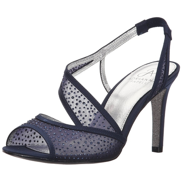 Adrianna Papell Womens Andie Open Toe SlingBack D-orsay Pumps