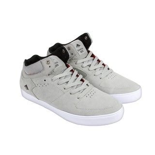 Emerica The Hsu G6 Mens Grey Suede High Top Lace Up Sneakers Shoes