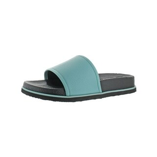 Calvin Klein Mens Mackee Slide Sandals Molded Pool