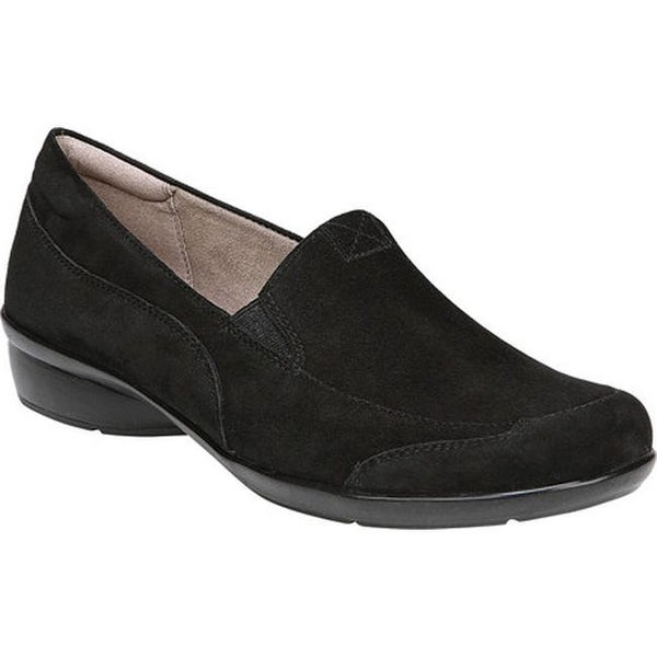 c784257cfcc Shop Naturalizer Women s Channing Slip-On Black Suede Leather - Free ...