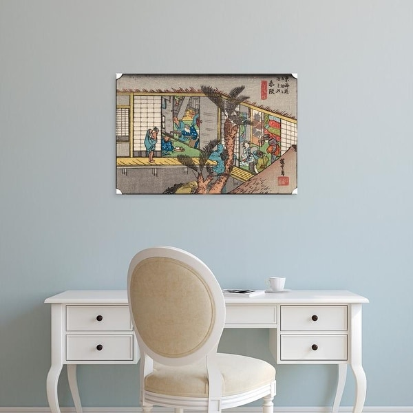 Easy Art Prints Unknown's 'Iconic Japan IV' Premium Canvas Art