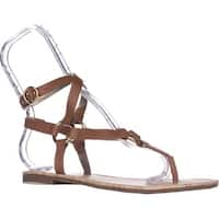 Circus by Sam Edelman Bree Flat Gladiator Sandals, Saddle
