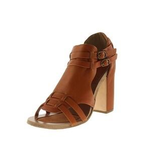 FIEL Womens Young Leather Solid Heels - 8 medium (b,m)