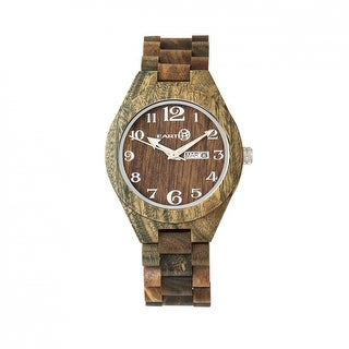 Earth Wood Sapwood Unisex Quartz Watch, Wood Band