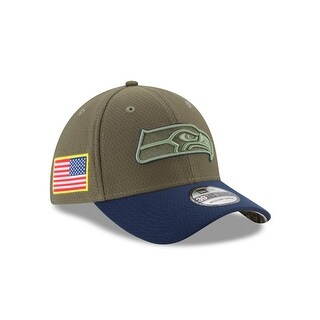 Seattle Seahawks 39THIRTY 2017 OnField Salute to Service Hat
