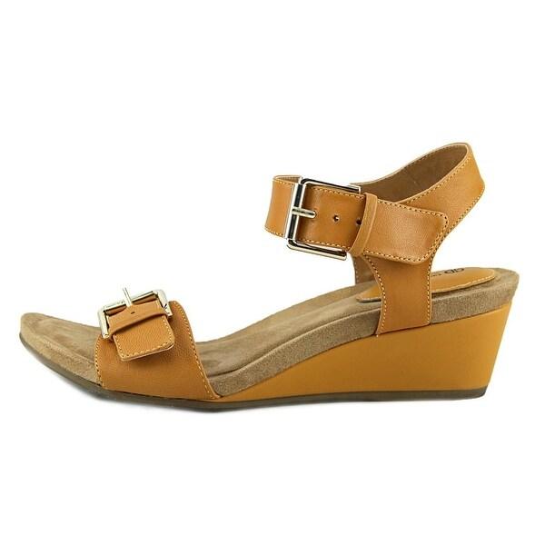 Giani Bernini Bryana Women Open Toe Synthetic Wedge Sandal