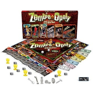 Zombie-opoly Board Game - multi