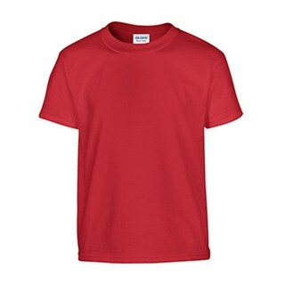 Gildan G5100P Heavy Cotton Toddler Tee - 3T, Red