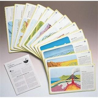 Hubbard Scientific 542 Landform Study Prints Set of 12