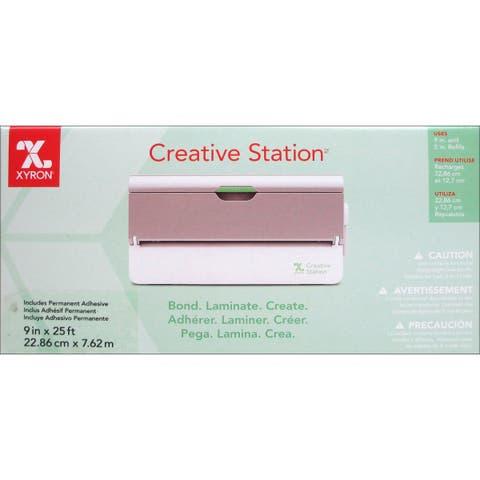 624632 xyron creative station machine 9 w 25 perm adhsv