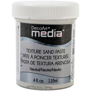 White - Media Texture Sand Paste 4Oz