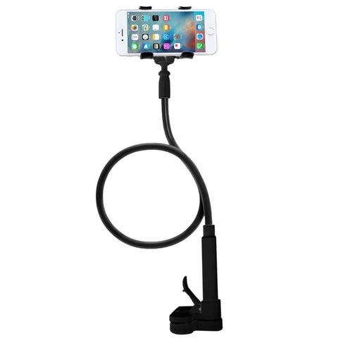 Skiva Flexible Long Arms Cell Phone Clip Holder Stand for iPhone X 8 8+ 7 7+ 6 6s Plus 5s SE, Samsung Galaxy S7 S6 Edge S5 Note5