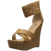 Luichiny Women's Min Dee Wedge Sandal