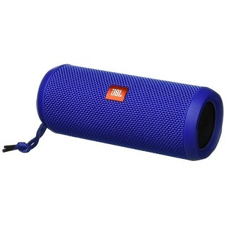 JBL Flip 3 Splashproof Portable Bluetooth Speaker (Blue)