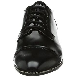 Sebastian Womens Leather Contrast Trim Oxford Brogue - 7 medium (b,m)