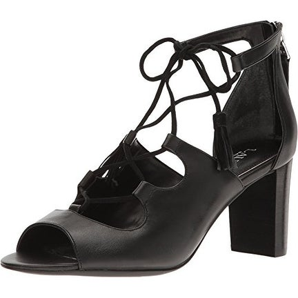LAUREN by Ralph Lauren Womens Hasel Leather Open Toe Casual Strappy Sandals
