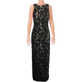 8c356b6c27f6 Lauren Ralph Lauren Womens Mailee Evening Dress Metallic Sleeveless. Quick  View