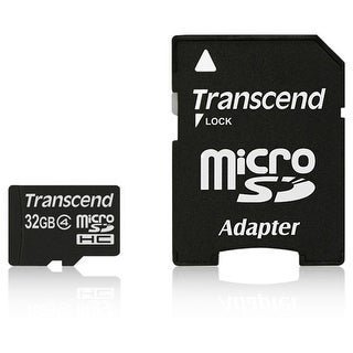 Transcend TS32GUSDHC4M SECURE DIGITAL MICRO SDHC 32GB CL 4