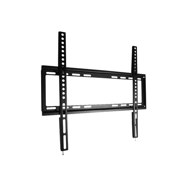 Monoprice Select Series Fixed TV Wall Mount Bracket - For TVs Up to 55in, Max Weight 77lbs, VESA Patterns Up to 600x400,