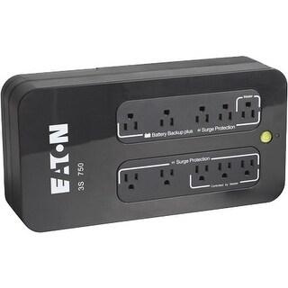 """""""Eaton 3S350 Eaton 3S UPS - 350 VA/200 W - 132 V AC - 5 Minute - Desktop, Mini-tower - 5 Minute - 4 x NEMA 5-15R - , 4 x NEMA"""