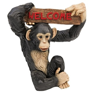 Design Toscano Monkey Business Jungle Welcome Statue