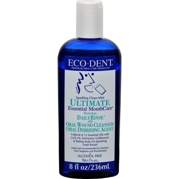 Eco-Dent Dailyrinse Mouthrinse - Mint - 8 oz