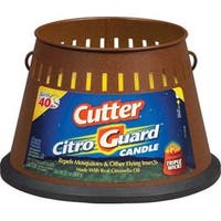 Cutter HG-95784 Citroguard Triple Wick Candle 20 Oz