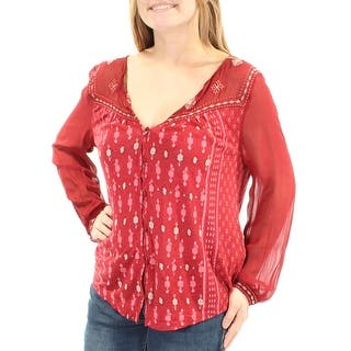 b9b1f7c03bbc Lucky Brand Womens Peasant Top Distressed Asymmetrical · Quick View. Lucky  Brand plus size summer shirt