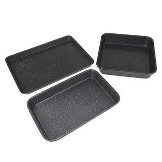Link to Curtis Stone Dura-Bake 3-piece Bakeware Set Model 642-136 Similar Items in Bakeware