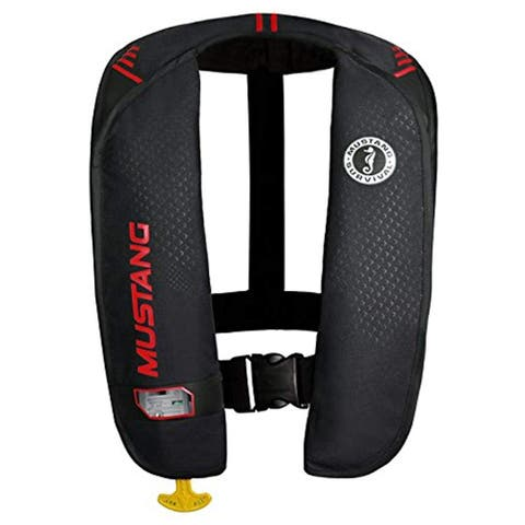 Mustang MD2016/02-BK/RD MIT 100 Inflatable Automatic PFD