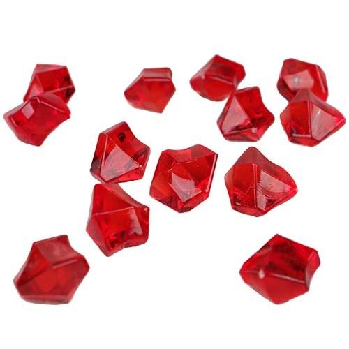 Shop Cys Acrylic Ice Rock Cubes 1 Lb Bag Vase Filler Or Table