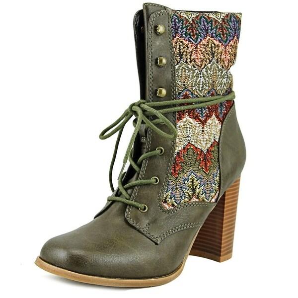 Dolce by Mojo Moxy Firebird Women Army Boots