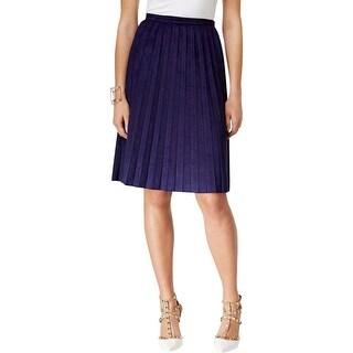 Robert Rodriguez Women 39 S Highwaist Leather Skirt Free Shipping Today 11436869