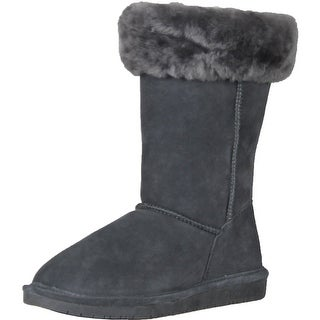 Bearpaw Women's 1208W Marissa Suede Boots - Charcoal - 6 b(m) us