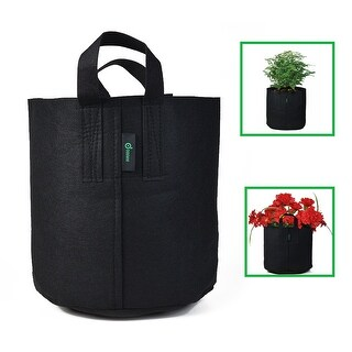 Odoland Soft-sided Container Pot for Plant Grow Bag Planter bag 5 Gallons
