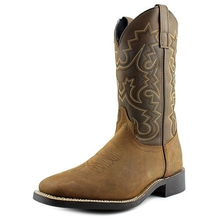 Laredo Saltillo Men EW Round Toe Leather Western Boot