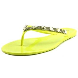 Bamboo Hawaii-43 Women Open Toe Synthetic Flip Flop Sandal