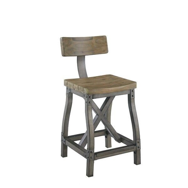 Lancaster Counter Stool with Back by INK+IVY. Opens flyout.