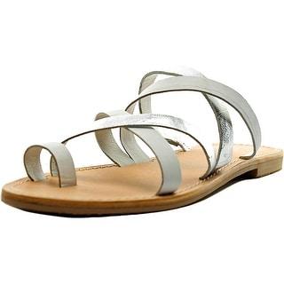 Charles By Charles David Aurora Open Toe Leather Slides Sandal